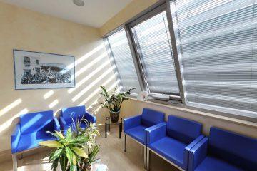 sala attesa centro medico chirurgico, studio, clinica campobasso