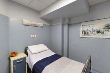 stanza degenza, ricovero, studio medico artemisia campobasso